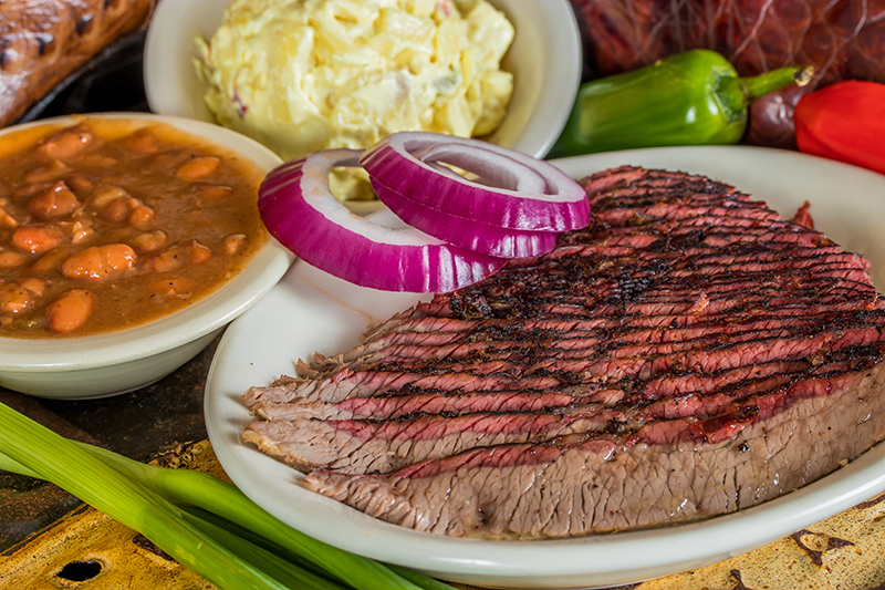 Valley Ranch BBQ Beef Plate