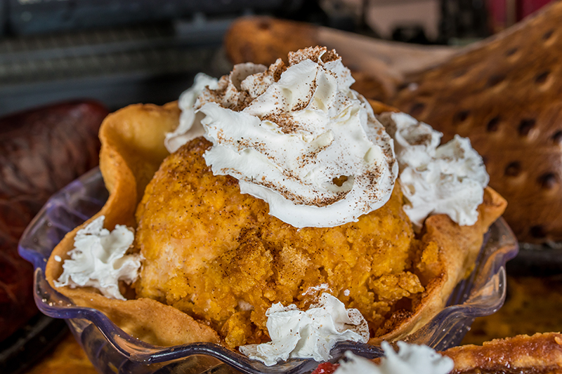 Valley Ranch BBQ Fried Ice Cream